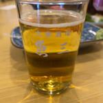 127865427 - 瓶ビール 大瓶 580円。