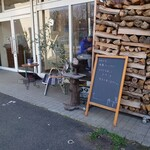 Natural cafe ROUTE99 - 外観