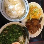 Ramenfutaba - 焼き肉定食ネギトッピング