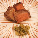味 竹林 - 宮崎牛のイチボ肉