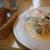 ハンバーグ ウィル - モッツァレラチーズハンバーグ(クリームマスタードソース)