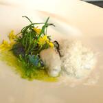 127875105 - 牡蠣と菜の花