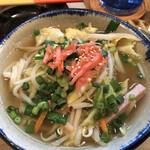 沖縄ダイニング 島のれん - 野菜そば