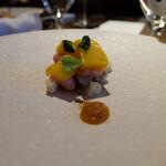 RISTORANTE&BAR EVOLTA - 自家製豚ハムとマンゴーのタルト