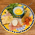 ピッツェリア ヒロ - 前菜盛り