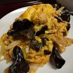 東京亭 - キクラゲと玉子の炒め