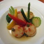クラゲストア - ホタテとお野菜