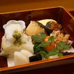 Aji Fukushima - 八寸風弁当
