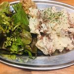 蒲田 牛タン いろ葉 - いろ葉のポテトサラダ