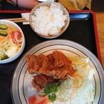 やじろべい - 若鶏唐揚げ+コース
