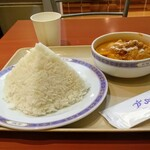 ジャイタイ - 「とり肉入りマッサマンカレー」のご飯大盛り