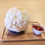シズク - 料理写真:フロマージュブランと苺の氷