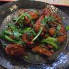 志峰飯店 - 料理写真:レバとニラ炒め定食