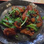 志峰飯店 - レバとニラ炒め定食