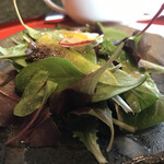 ステーキ円山 - サラダ