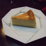 KuRa珈琲 - チーズケーキ(ベイクドタイプ)