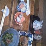 季節料理 柳橋 - お通しを含め、菜の花のおひたしとぶり大根