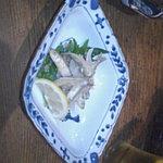 季節料理 柳橋 - ワカサギの南蛮漬け