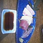 季節料理 柳橋 - お刺身の中トロは絶品
