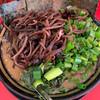 家系ラーメン王道 いしい - 料理写真:ネギラーメン(わけネギ)キクラゲ追加