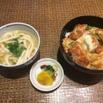 127914247 - カツ丼+ミニうどん