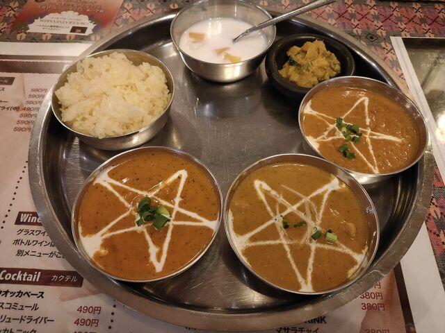 マザーインディアの料理の写真