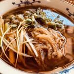 蓬 - かき揚げ天蕎麦