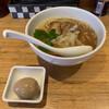 niboshichuukasobasanshirou - 料理写真:煮干し中華そばと別皿で提供された味付玉子('20/03/22)