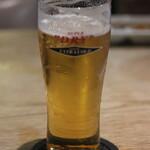 旬彩炙りダイニング からと屋 - 生ビール