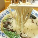 まるきんラーメン - 細麺