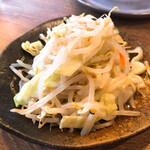 つけ麺屋 ごんろく - トッピング野菜 150円