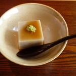 貴匠庵 - 天然の春野菜と蕎麦コース:蕎麦豆富