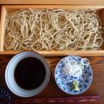 貴匠庵 - 天然の春野菜と蕎麦コース:せいろ