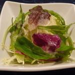 グリル モリタ - シチューハーフコースのサラダ