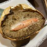 かに政宗 - カニ味噌甲羅焼き