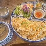 シアムハウス - 料理写真:タイ焼き飯¥1000-