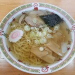 福 - 料理写真:雲呑麺(少な目)