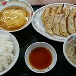 餃子の王将 - 料理写真:餃子セット