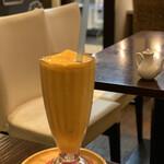イヴ カフェ - どろっとしたミックスジュース