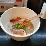 麺屋 號tetu - 濃厚 鶏SOBA  塩 (o´艸`o)♪