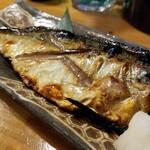海鮮居酒屋山水 - 焼き塩サバ