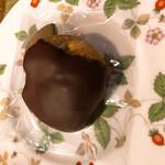 ショコラティエ・ミキ - 白イチジクのチョコレート掛け