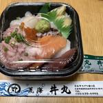 丼丸 - うみまる丼 540円(税込) 【全体】