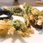 127961358 - 山菜の天ぷら