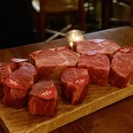 Xató burrata & steak -