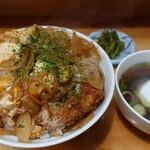 団地ラーメン - 料理写真:かつ丼