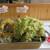 本格手打 麺の蔵 - 料理写真:「わさび菜の天ぷら」