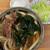 ふもとや - 料理写真:肉わかめうどん&キャベツ