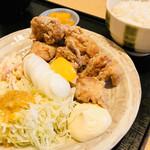 Ichigen - ランチから揚げ定食¥800
