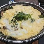 かんぽの宿 潮来 - 白魚の卵とじ(卓上で仕上げます)